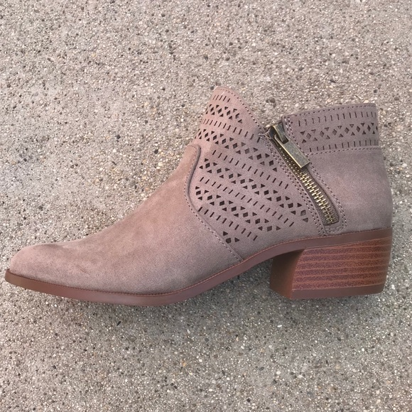 b3ecd214ddc Could these Qupid Rager Taupe BOOTIES be any cuter